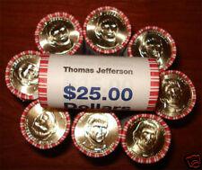 2007 John Adams Presidential $1 ROLL(25)