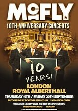 McFly 10 Years Repro Tour Poster