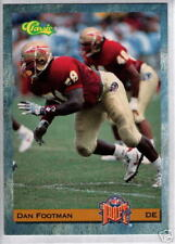 1993 Classic Draft Dan Footman