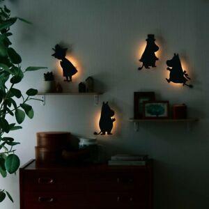 Moomin Little My Snufkin Sensor Wall Mini Light Lamp Sticker LED Japan E7195