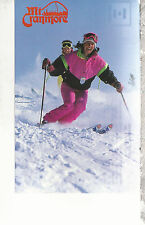 Mount Cranmore  Downhill Skiing  North Conway  NH  Postcard 357