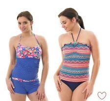Nylon Tankini Swimwear for Women