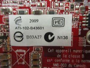 ATI- 102G018700 - Radeon HD 2400 PRO 256 MB DDR2 PCIE Video Card