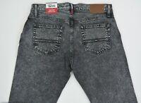NWT MEN'S Tommy Hilfiger Denim Stretch Slim (Etroite) Acid Washed Jeans