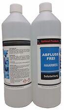Abflussfrei Haarweg 2 X 1 Liter Flasche Sofortwirkung Konzentrat