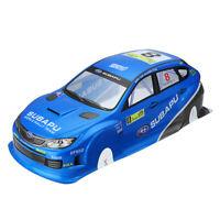 1/10 Scale Rc On-Road Drift Car Body Painted PVC Shell for Subaru Sti X Vehicle