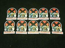 1991 Marvel X-Men Mutant Genesis Pin Lot of 10 - Rare Lot