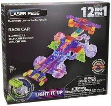 Laser pegs 1 en 12-indy voiture construction set nouveau