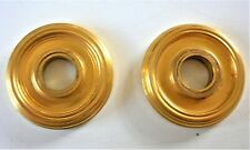 plaque proprete collerette a visser bronze poignee porte serrure chateau maison