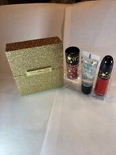 MAC Lip Set Lipglass, Matte Lipcolor & LipGlitter