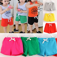 Summer Children Kids Cotton Shorts Cute Boys And Girls Clothes Baby Casual Pants
