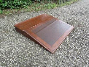 ANTIQUE VICTORIAN  CLERKS DESK/ table top  WRITING SLOPE RUSTIC