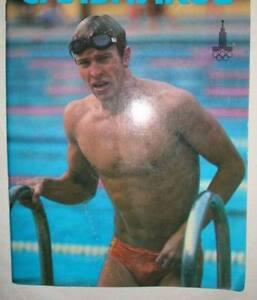 POSTER olympic champion USSR PHOTObook swimming SALNIKOV
