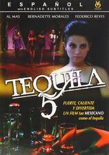 Tequila 5 (DVD, 2007) *SPANISH*