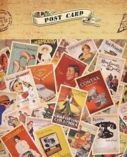 32 Pcs Mixed Vintage Retro Advertising Movie Travel Postcards Post Cards in UK