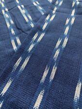 Handwoven Maya Mayan Guatemala Guatemalan Jaspe Ikat Cotton Fabric Textile
