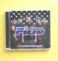 Five 🎵 Invincible [Music CD] 🎵