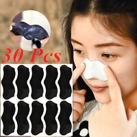 30pcs Nose Pore Cleanning Strips Blackhead Remover Peel Off mask / Nose Sticker