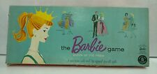 """ORIGINAL 1961 Vintage Mattel """"The Barbie Game"""" Board Game Queen of the Prom RARE"""