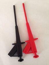Test Clip Of Spring Wire Grabberspincer Test Probes Usa Seller