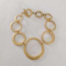 "Premier Designs Jewelry HOOP-DE-DO 7""-8.5"" Toggle Bracelet NWOT"