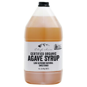 4L Pure Certified Organic Agave Syrup Low-Gi Light