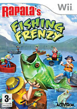 LIKE NEW!!! • RAPALA'S FISHING FRENZY • Wii • SPANISH VERSION • FREE P&P!!!