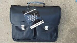 New Perry Ellis Laptop Messenger Bag Black