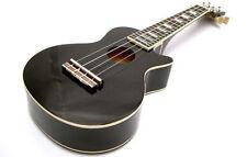 Soprano Ukulele Mahalo Les Paul  LP Shape Ukelele + Gig Bag in Black
