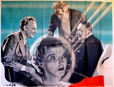 MAN WHO CHANGED HIS MIND 1936 Boris Karloff John Loder UK 80x60 POSTER