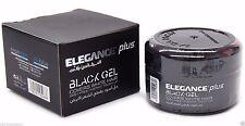 ELEGANCE PLUS BLACK GEL COVERS WHITE HAIR 3.5 OZ / 100 ML