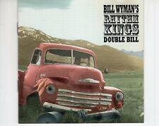 CD BILL WYMAN'S RHYTHM KINGSdouble bill2CD EX+  (A4025)