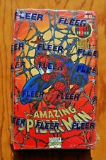 "1994 Fleer,"" The Amazing Spider-Man"", Marvel Cards, 1st Edition, Factory Sealed."