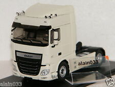 TRACTEUR DAF XF106 SPACE CAB BLANC ELIGOR 1/43 Ref 115547