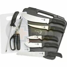 Elk Ridge Nine Piece Big Game Hunting Knife Kit