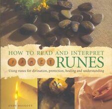 HOW TO READ AND INTERPRET RUNES - BAGGOTT, ANDY - NEW HARDCOVER BOOK