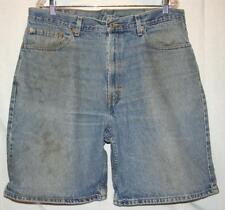 Levis Levi 550 Relaxed Fit Blue Jean Denim Shorts Size 38 Free Shipping!