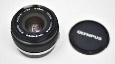 Olympus OM-System G.Zuiko 28mm F3.5 Lens