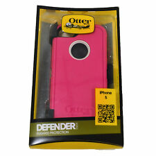 Otterbox Defender Series Shell Case iPhone 5 Belt Clip Black Purple Pink White