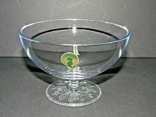 """Waterford Crystal Clear Collection """"Light"""" Footed Small Serving Bowl"""