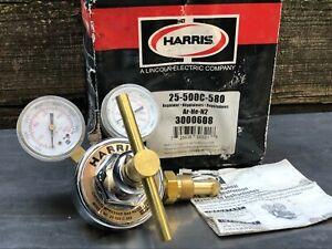 NEW Harris Compressed Gas Regulator Model 25-500 C-580
