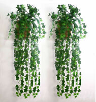 7.5ft Artificial Ivy Leaf Garland Plants Vine Fake Foliage Flowers Home decor