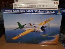 Trumpeter 1/32 Grumman F4F-3 Wildcat (early production) w/ Eduard extras
