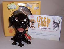 LITTLE PAWS From PETS PERSONALITY Jet Black Labrador