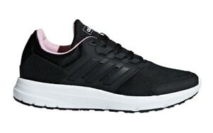 Adidas Trainers Running Shoes Sneakers Galaxy 4 - Black - Womens Ladies