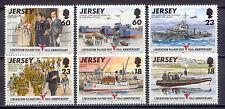 2. Weltkrieg, Schiffe, II.WW, Red Cross - Jersey - 695-700 ** MNH 1995
