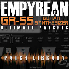 Roland GR-55 ULTIMATE Patches Guitar Effects Settings Presets FREE FAST SHIPPING
