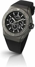 TW Steel Men's 44mm Black Silicone Band Steel Case Automatic Watch CE5000