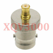1pce Adapter converter BNC female jack to MCX male plug RF COAXIAL for Antenna