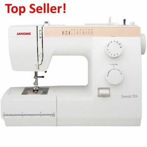 Janome Sewing Machine Sewist 709 Refurbished